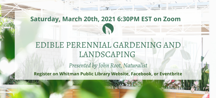 Edible Perennial Gardening and landscaping